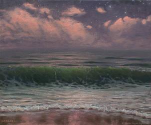 Emerald Wave by MarioFegan