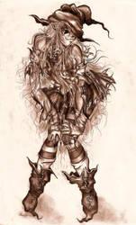 Halloween Maiden by Zackarra