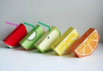 Fruity Juice Boxes by nappo-chan