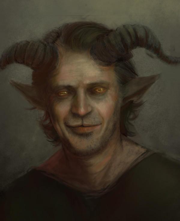 goat man by mettyori