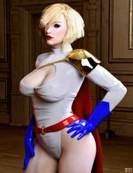 Power Girl by rosepab