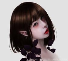 Kiku Rage by tinywhitestar