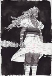 Inktober 16th: Hyper Kusuriuri - Angular by Danikatze