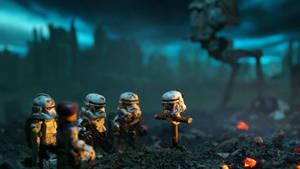 star wars lego wallpaper  by hecticKURT