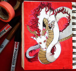 Red Dragon by LaFilleEtoile