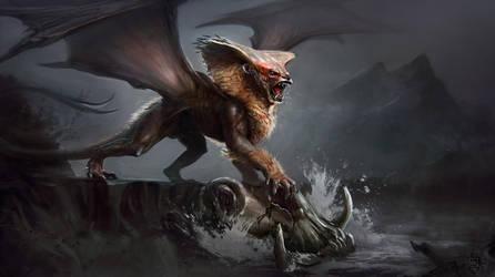 Creature Illustration by VertexBee