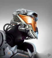 Helmet Design by VertexBee