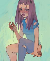 Am I bleeding? by TakimiNada