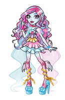 Sirenety Hazy - Monster High FC by Tosha22