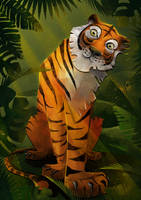 tiger by Esoragotka
