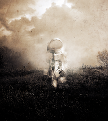 The Ghost of the Astronaut by Xenophoria