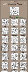 Alice ABC Expression Meme by ALhedgehog