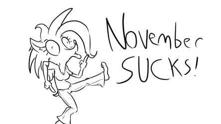 Alice: November Sucks by ALhedgehog