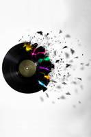 Shattered Vinyl by Krankengast