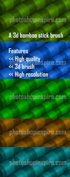 3d Bamboo Photoshop brush Freebie by nishagandhi