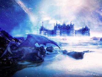 Beautiful fantasy dragon photoshop tutorial by nishagandhi