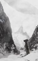 Ilh, the faraway mountains by archityran