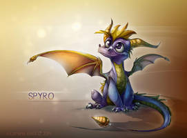 Spyro the Dragon by Dragibuz