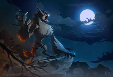 Talbot the Werewolf -[ Commission ]- by Dragibuz