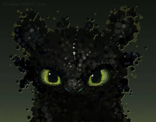 Toothless by Dragibuz