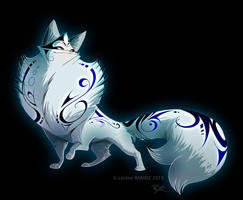 Marble Fox Style by Dragibuz