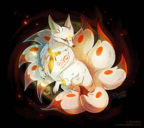 Kitsune Master by Dragibuz