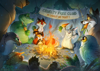 Cruelty Free Club by Dragibuz