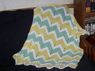 Baby Ripple Afghan by chani1120
