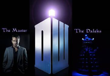 The Master - The Daleks by cerys34
