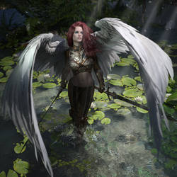 The Angel by TraceSL