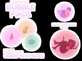 MMD Steven Universe Gem/Bubble Pack [READ DESC.!!] by JoeySandbag