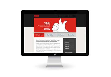 Share - Web design by HanibalLecter