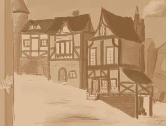 German Village by Gosh-Heck