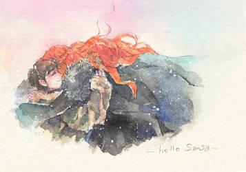 hello Sansa by pecopipi