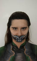 Loki makeup by larahawker