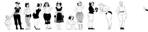 Comic Twart - Maggie by MisterHardtimes