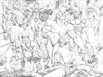 The X-men by MisterHardtimes