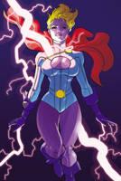 Comic Twart - Power Girl by MisterHardtimes