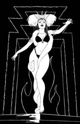 From Dusk to Dawn line art by MisterHardtimes