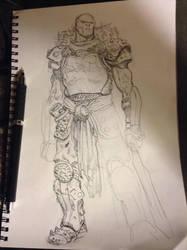 In my sketchbook by MisterHardtimes