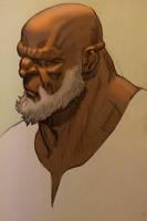 Pencil+digital sketch. by MisterHardtimes