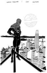 Superior Spider-man #1 variant cover by MisterHardtimes