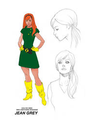Jean Grey design by MisterHardtimes
