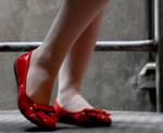 Red shoes by scriptMan