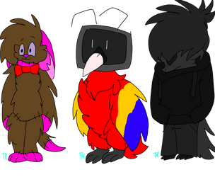 Adoptables (1/3 open) by TanukiKlaw