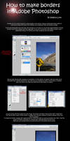 Photoshop Border Tutorial by Illogical-Lynx
