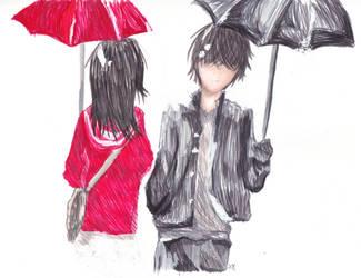 Red Umbrella by ShoutaIzukai