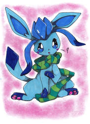For Vapek - Glaceon by Nid15