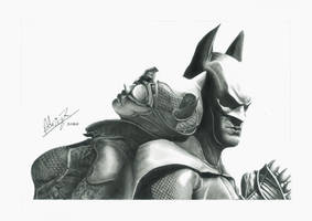 Dark Knight and the Catwoman by Adriaz