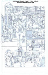 Witchblade sample page 3 by NJValente